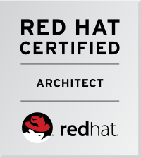 Certificate: Red Hat Architect