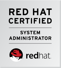 Certificate: Red Hat System Administrator